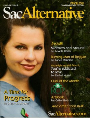 The first issue of SacAlt Magazine.