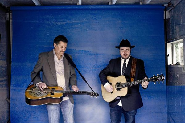 Grammy-nominated duo Rob Ickes & Trey Hensley appear at The Dip in Redding Monday, February 20.