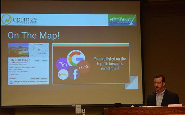Matt Morgan reviews the city's social media program.