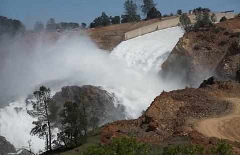 Oroville Dam Emergency Spillway