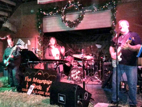 It's a family affair. Fire Mountain Rock Band and Three Mile Road headline the fundraiser.