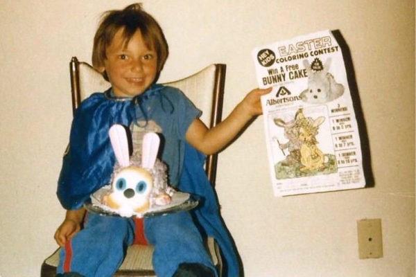Trevor Adey, age 4, 1984. Photo courtesy Debbie Adey-Morgan.