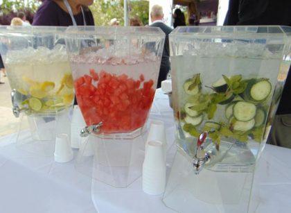 Taste of Redding flavored water