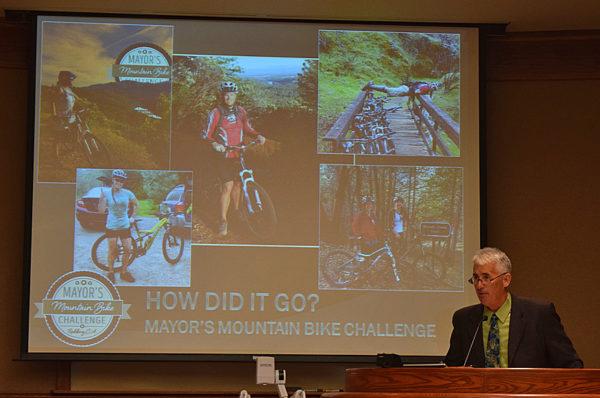 Brian Crane summarizes the Mayor's Mountain Bike Challenge.