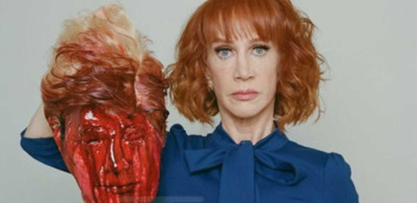 Art of the Resistance, starring Kathy Griffen.