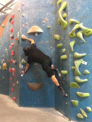 michael rock climbing