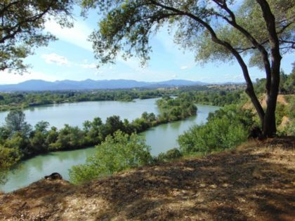 Oakmont sits upon a bluff that overlooks the Sacramento River. Photo by Steve DuBois.