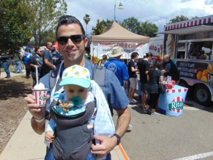 taste of redding baby and daddy
