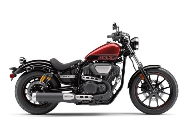 Rhodes was riding a 2017 Yamaha Bolt 950 similar to this. Photo courtesy Yamaha Motors.