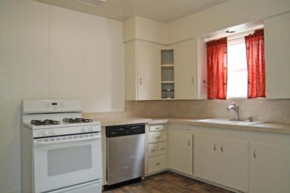 """Doni knew she wanted to replace her """"new"""" old house kitchen cabinets."""