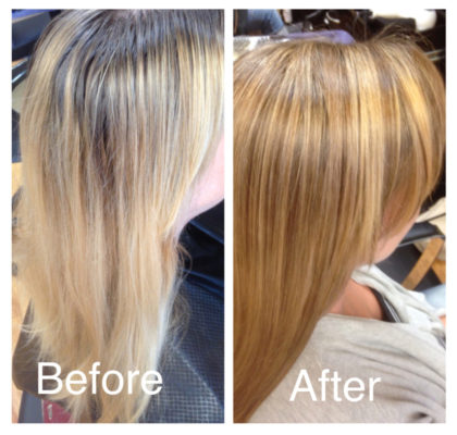 This client followed the 13 Hot Tips to Healthier Hair – Photo by Courtney Paige