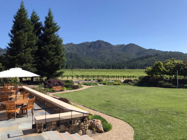 St. Francis Winery Courtyard – Photo by Courtney Paige