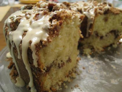 Doni's sour cream coffee cake is a winner
