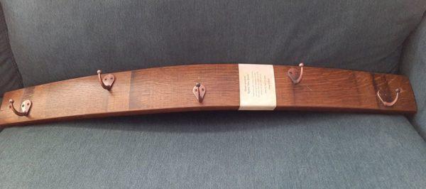 wood and metal coat/hat hanger