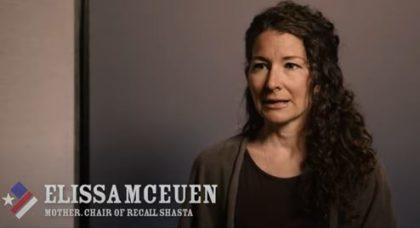 Elissa Mceuen, chair of Recall Shasta